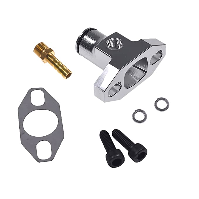 JRL CNC OEM Tuning Boost Intake Manifold with Connector Fit 80CC Motorized Bike
