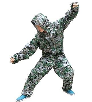 toparchery 3d hoja de camuflaje ropa de caza camuflaje Yowie Sniper tiro con arco - traje de Set: Amazon.es: Deportes y aire libre