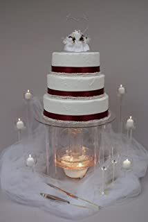 Amazon Com Fanci Water Fountain For Wedding Cake Cake Stands