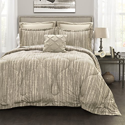 Lush Decor Lush Décor Rustic Stripe 6 Piece