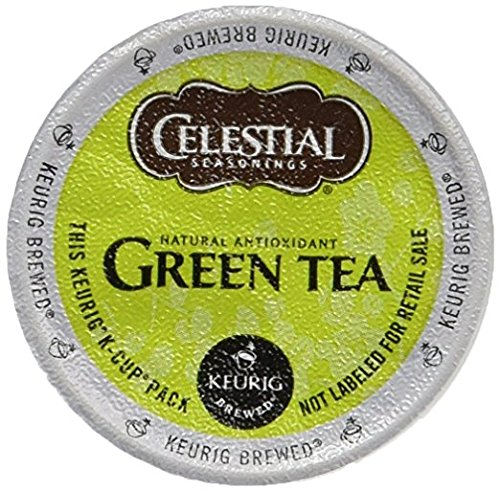 Celestial Seasonings Authentic Green Tea, K-Cup Portion Pack for Keurig K-Cup Brewers, 24-Count (Best Keurig Green Tea)