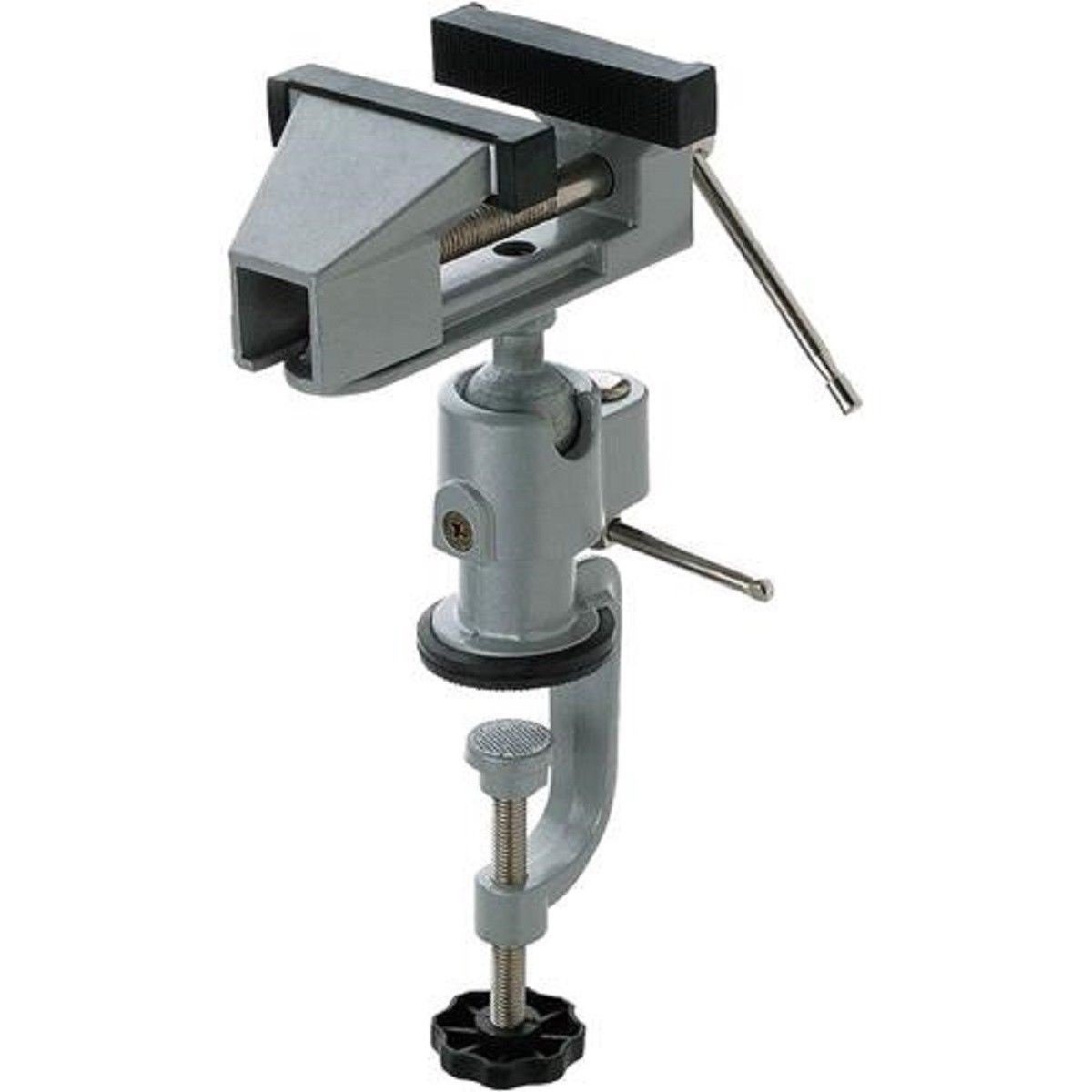PROFESSIONAL CARVERS UNIVERSAL 360 DEGREE BALL ADJUSTABLE BENCH VISE,NEW