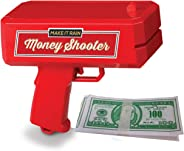 Ideas In Life Play Money Shooter - Fun Novelty Handheld Cash Shooter with 100 Play Money Bills - Dollar Shooter for Kids and