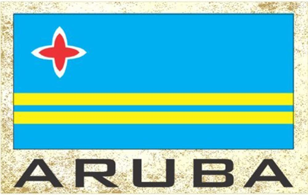 Flag Fridge Refrigerator Magnets - Americas (Country: Aruba)