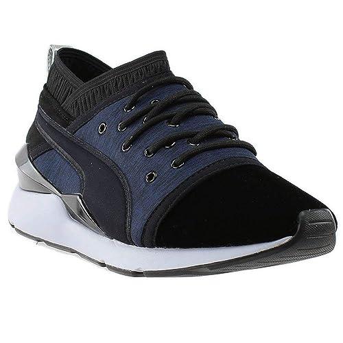 2bbc448d65a3 PUMA Womens Pearl VR Athletic   Sneakers Black