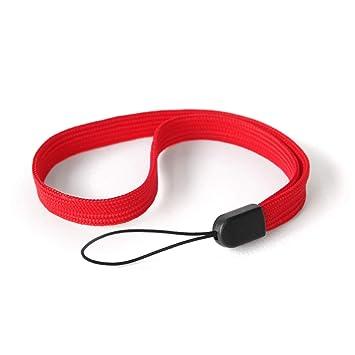 Digitalkamera, Handschlaufe für Kamera Poppstar 2x Handgelenk Trageband rot