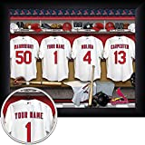 St. Louis Cardinals Personalized Framed Print