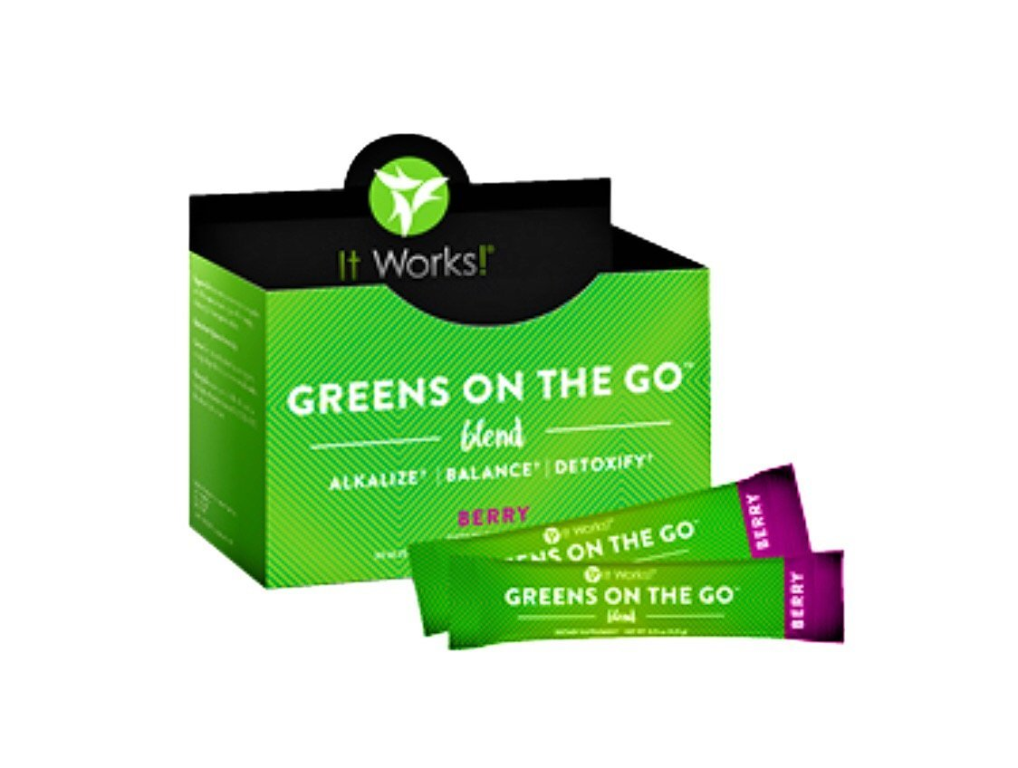 It Works! Greens On The Go - Berry Flavor