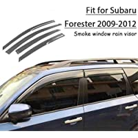 ZHAOHAOSC 4pcs ABS Car Styling Viseras de Ventana