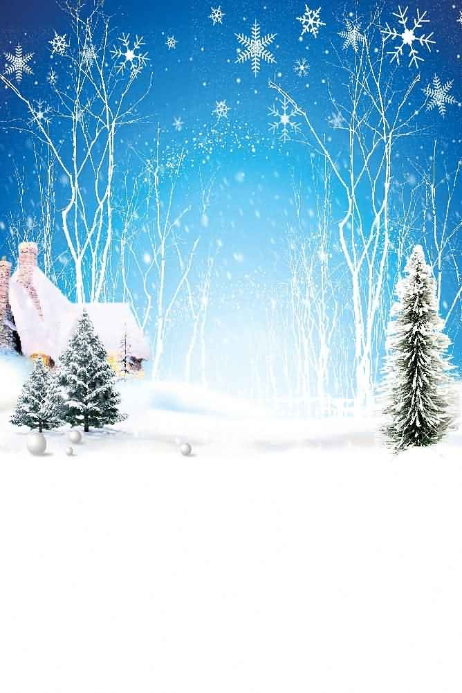GladsBuy クリスタル雪の結晶 8フィート x 12フィート デジタル印刷 写真背景 クリスマステーマ背景 YHA-438   B073G188H9