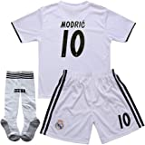 876f3e7ef89 Luka Modric  10 2018-2019 Real Madrid Home Kids Youth Socce Jersey Matching