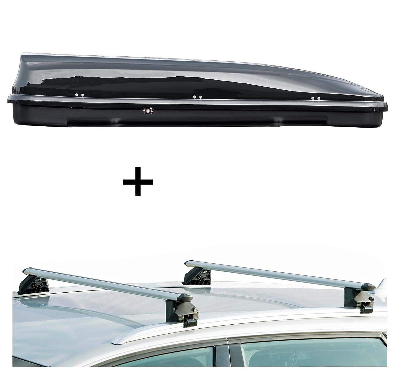 F11 Dachbox VDPFL460 460Ltr schwarz gl/änzend Dachtr/äger CRV107A kompatibel mit BMW Serie 5 Touring 5 T/ürer 2010-2017