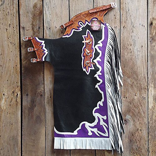 Used Bull Riding Chaps - 3