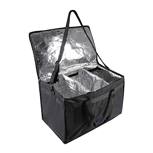 DELEBAO Extra Large Cool Bag Insulated Cooler Bag Box Picnic Camping Food Drink Lunch Tote Bag 79 Liter