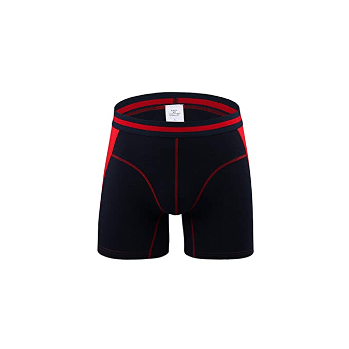 bestbewertet offizieller Verkauf Rabatt zum Verkauf HANBINGPO Men Underwear Boxers Long Leg Short Boxer ...