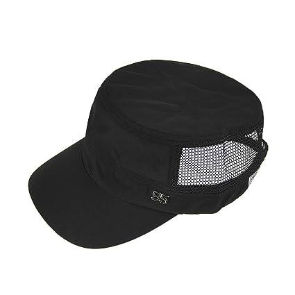 FakeFace–Gorra Béisbol/visera primavera verano sombrero de sol/playa demi-mesh sombrero cubo/plana/viaje… KGOn97aA