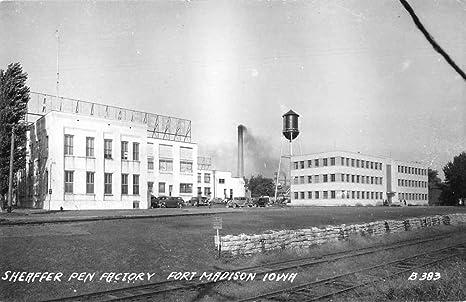 Amazon com: Fort Madison Iowa birds eye view Sheaffer Pen Factory