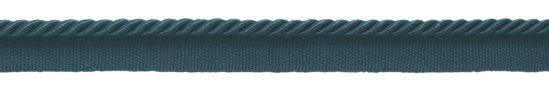 DÉCOPRO 24 Yard Package|Small 3/16 inch Teal Blue Basic Trim Decorative Rope|Style# 0316S (21976)|Color: Light Peacock Blue - 9620|72 Ft / 21.9 Meters by DÉCOPRO