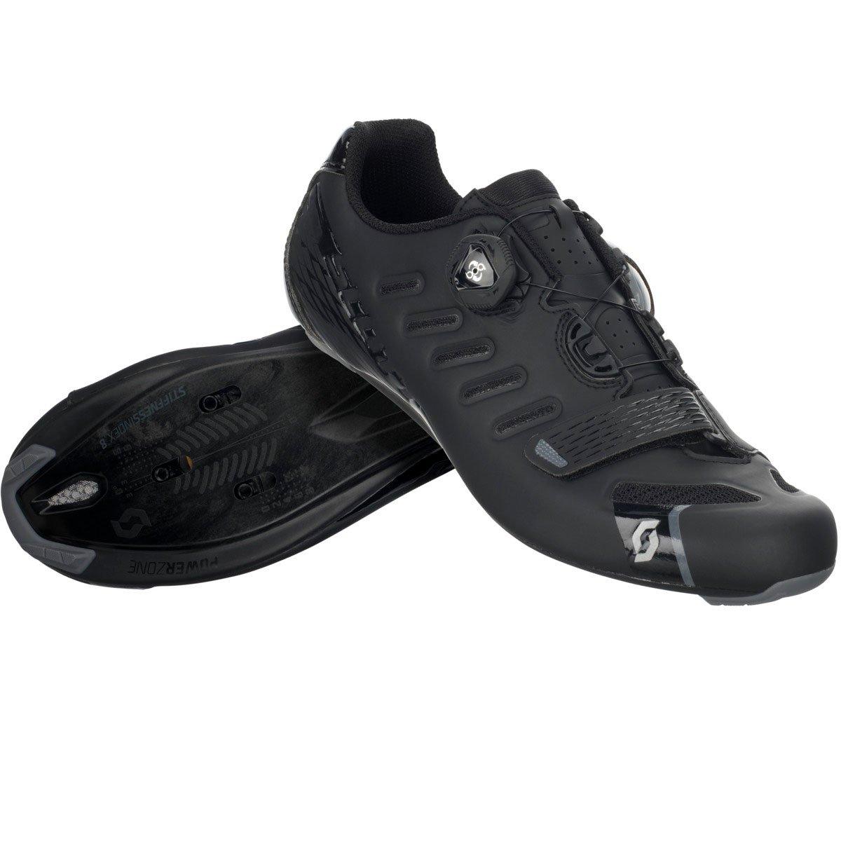 Scott Road Team BOA Shoe - Men's Matte Black/Gloss Black, 41.0 B01LXL1C6G Parent