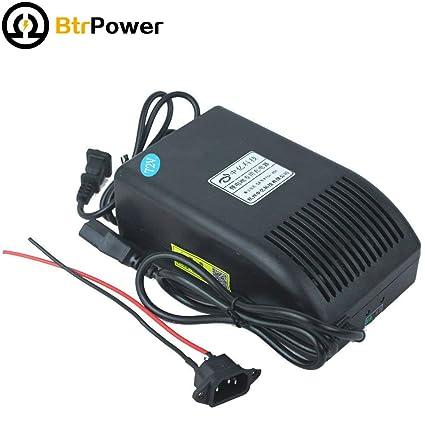 Amazon.com: BtrPower 72V 5A Cargador de batería para ...