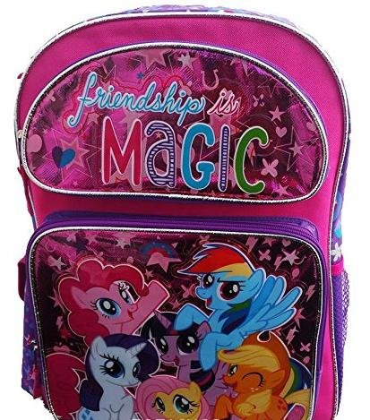 New My Little Pony Friendships Is Magic Small 12 Inches Backpack-36356]()