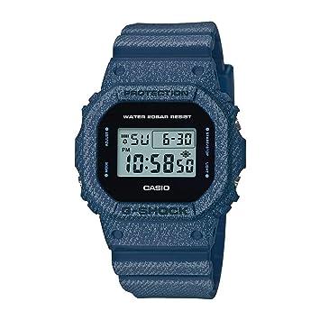 5f12d308a26b Casio Reloj Digital para Unisex Adultos de Cuarzo con Correa en Plástico  DW-5600DE-2ER  Amazon.es  Relojes