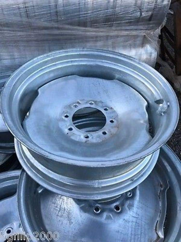 NEW 24.5''X8.25'' GALVANIZED IRRIGATION PIVOT WHEEL HEAVY DUTY by WHEELS EXPRESS INC.