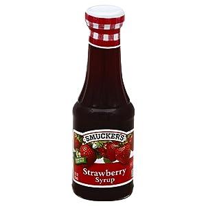 Smuckers Syrup Strawbry Ntrl 12 oz