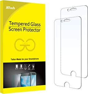 JETech Screen Protector for iPhone 6 and iPhone 6s, Tempered Glass Film, 2-Pack