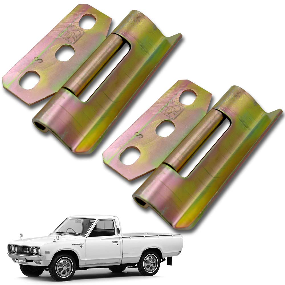 Nonstops Hinge Assy Rear Door Tail Gate 2 Pc Fits Datsun Pickup 620 Truck 1972 1979 by Nonstops