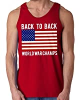 Back To Back World War Champs Tank Top (Red)