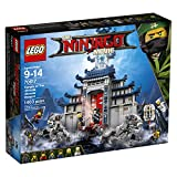 LEGO Ninjago Temple Ultimate Ultimate Weapon 70617 Building Kit (1403 Piece)