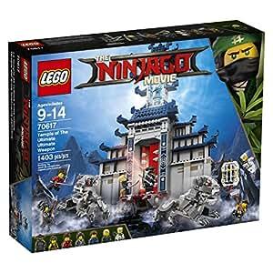 LEGO Ninjago Temple Ultimate Ultimate Weapon 70617 Building Kit (1403 Piece)