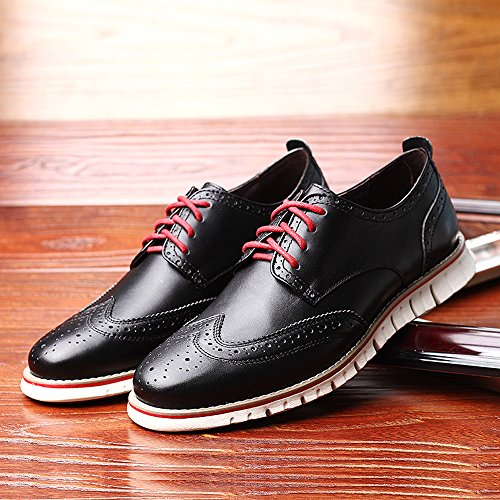 Laoks Men S Brogues Leather Shoes