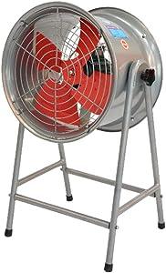 KMMK Home Electric Fan,Industrial Pedestal Fan Industrial Fan Oscillation Cooling/High Power Floor Fan Portable Quiet/4 Rotor Blades Large Pedestal Stand Fan, Extra Wide Base Heavy Duty