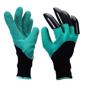 Guantes de jardinería, guantes resistentes resistentes a la espina del jardín para rosas de poda