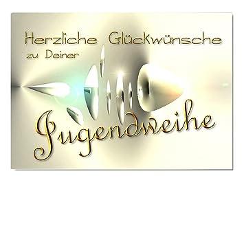Digitaloase Glückwunschkarte Zur Jugendweihe Grußkarte