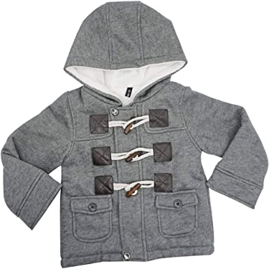Ekaliy Baby Boys Girls Winter Fleece Coats Infant Toddler Kids Jackets with Hoodies