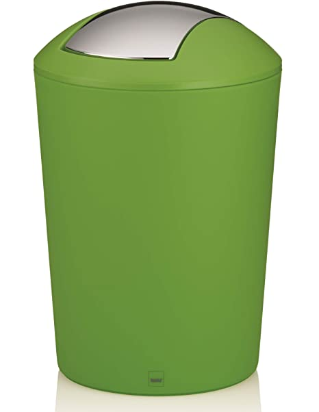 Kela Trash Can with Lid Marta Collection, Green