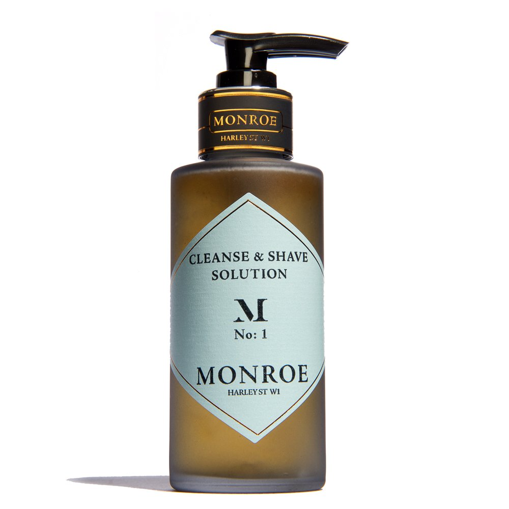 Monroe London Cleanse & Shave 100 ml 5.06047445001E12
