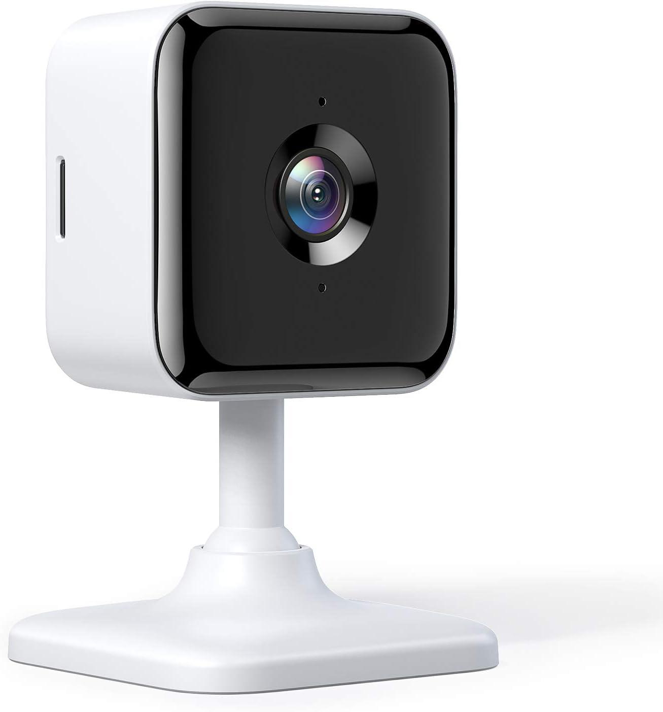 1 Paquete Alexa Google Home Teckin CAM 1080P FHD c/ámara Inteligente Wi-Fi Interior para Seguridad en el hogar detecci/ón de Movimiento y Sonido Audio de 2 v/ías visi/ón Nocturna