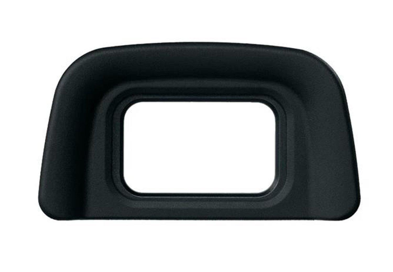 con Alliebe mini caso de almacenamiento Alliebe DK-20 de reemplazo de caucho ocular visera visor para Nikon D5500 D5300 D3300 F65 F75 D40 D50 D60 D70s D5100 D3200 D3100 D3000 2 paquetes