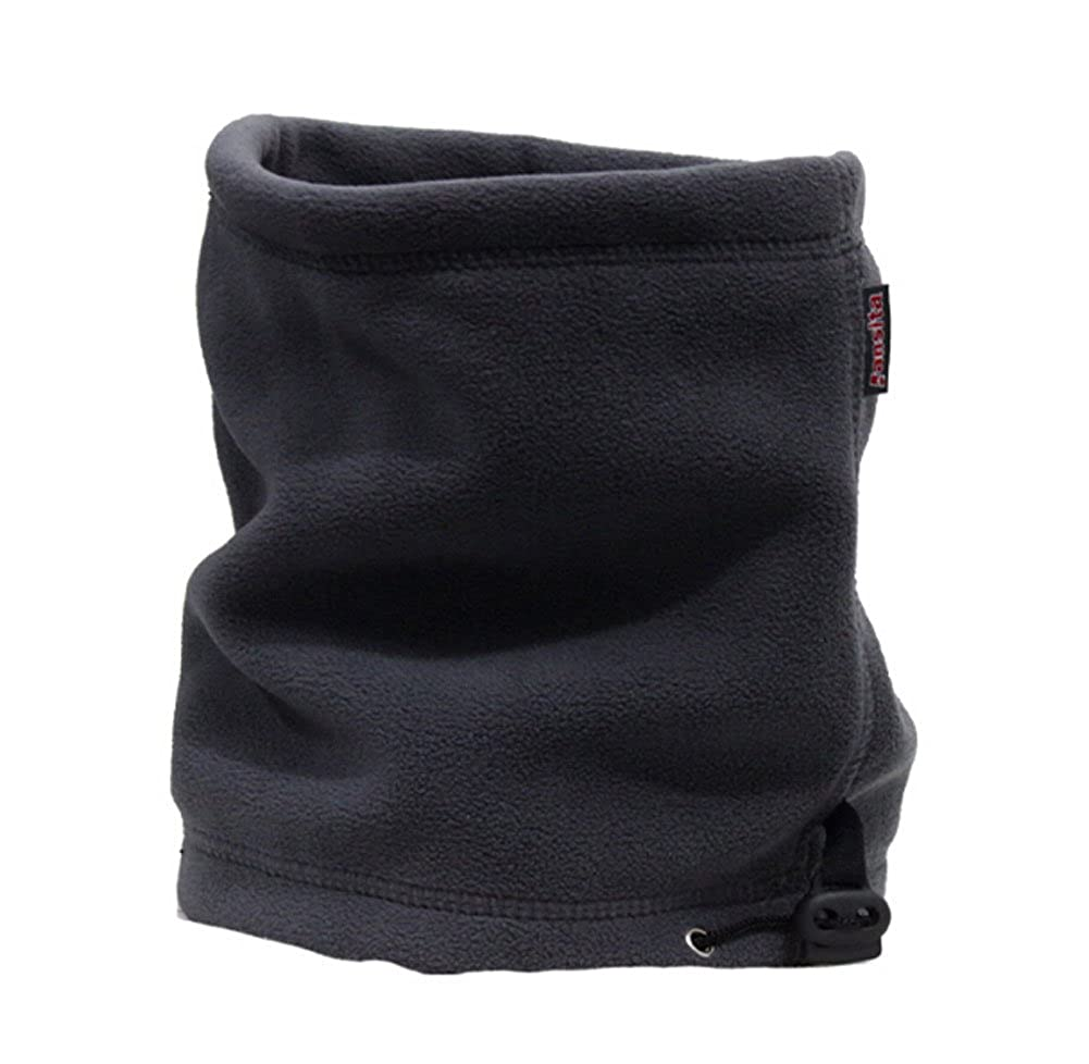 Set of 2 Double-Layer Fashion Neck Warmer Neck Gaiters DARK GRAY PS-CLO2578666011-ALAN02703