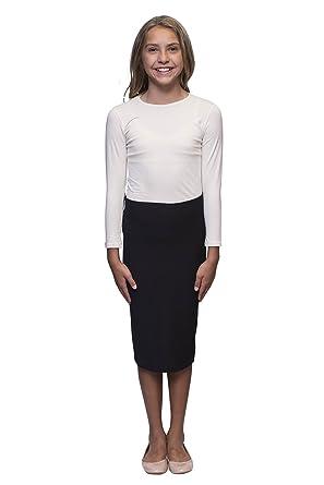 8815236762 Amazon.com: Karen Michelle Pencil Skirt for Girls: Clothing