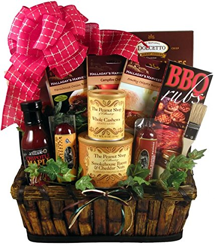 Gift Basket Village The Grill Master, Deluxe - A Grilling Gift Basket For Him, 9 Pound