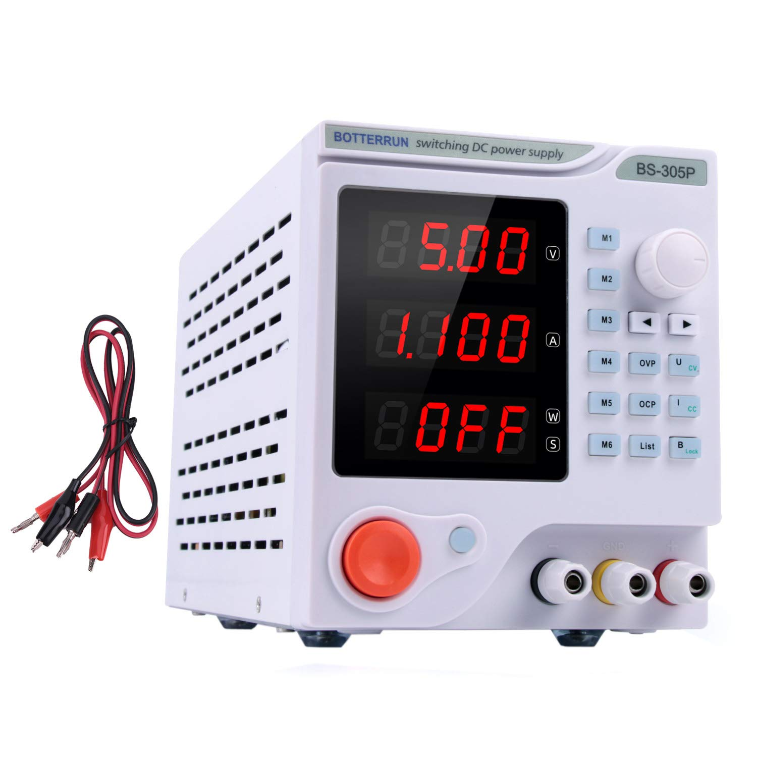 Disply with Output Power Lab Grade multi group data storage function with RS485 communication interface Programmable DC Power Supply 30V,5A Variable Regulated Power Supply Digital with PC Software