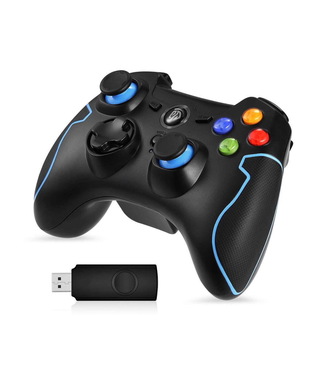 EasySMX Mando para PC, [Regalos] Mando Inalámbrico PS3 Gamepad Wireless Compatible con Windows