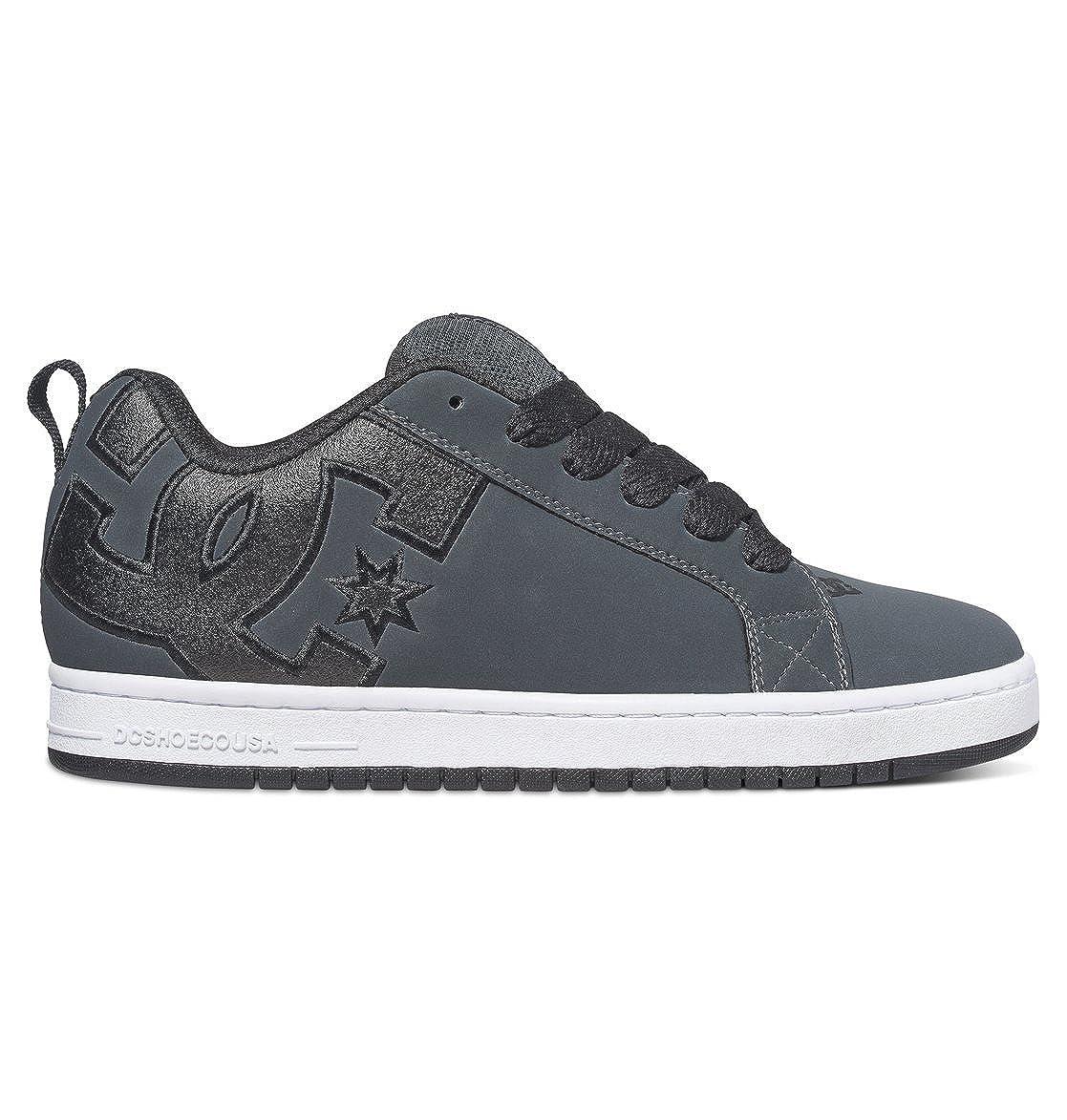 gris Blanc 38.5 EU DC chaussures Court Graffik SE Pour des hommes chaussures D0300927, paniers mode homme