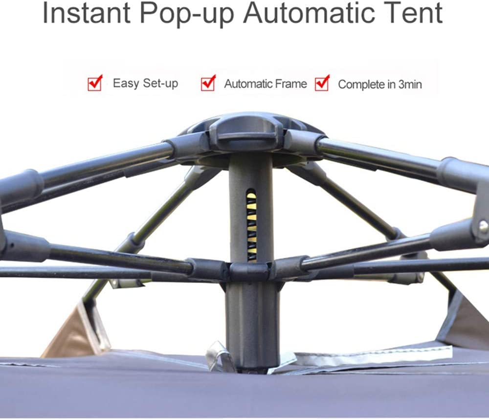 Desert Fox Automatic Pop Up Tent 4 5 Person Outdoor