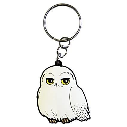 Amazon.com: ABY Harry Potter Hedwig PVC Keyring: Toys & Games